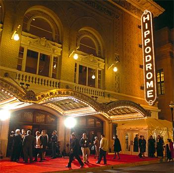 Hippodrome Theatre, 12 N. Eutaw Street, Baltimore, Maryland, 21201